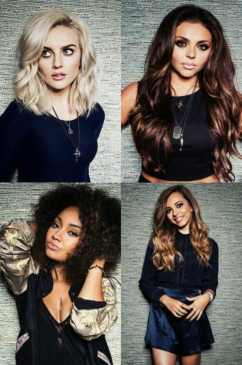 Little Mix collage
