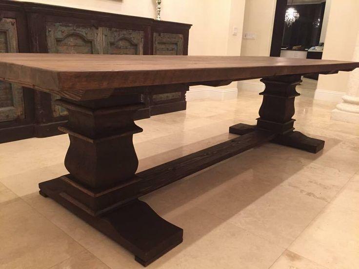 47 Best Custom Built Wood Tables Images On Pinterest  Wood Tables Prepossessing Custom Built Dining Room Tables Design Inspiration