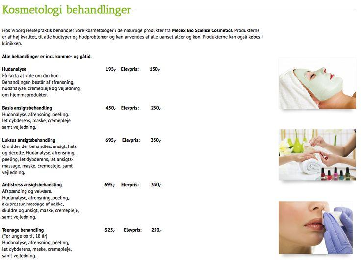 Voksbehandling og Ansigtsbehandling hos Viborg Helsepraktik i #Viborg