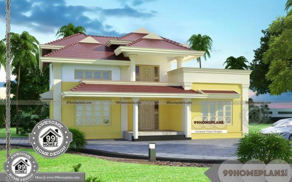 Different Types Of House Plans Double Floor Cute And Simple Style Plans Different Types Of Houses Two Storey House Plans House Plans