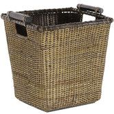 Found it at Wayfair - Rattan Storage Bin (for towels and extras in half bath)