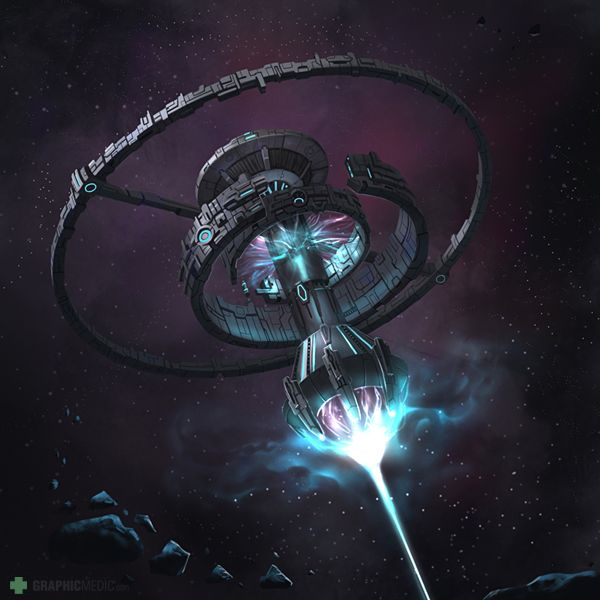 Death star illustration
