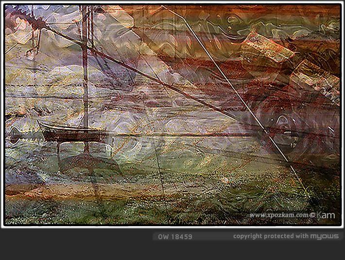 Chaloupe étuvée - Tirage Pigmentaire (HDR) - Série N° 100/100 - 20x30cm (exemplaires signés et numérotés, sans certificats d'authenticité) - Prix : 90€