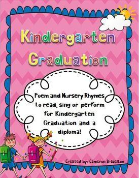 Kindergarten Graduation Poem, Nursery Rhymes, Diploma ...