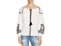 Image result for maje embroidered tee