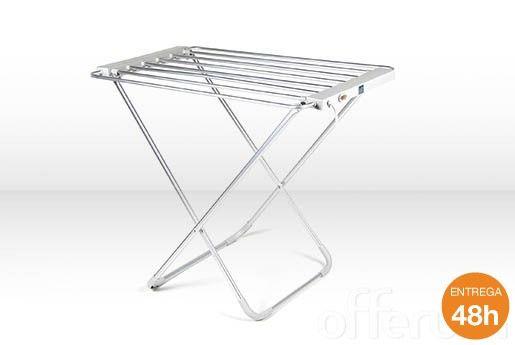 Tendedero el ctrico plegable con calefacci n para secar - Tendederos de ropa ...