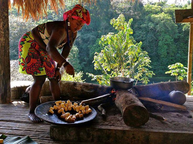 Embera Rainforest Indian Tribe! Panama Teen Community Service and Spanish Exposure Program- Teen Summer Travel Programs   Road Less Traveled