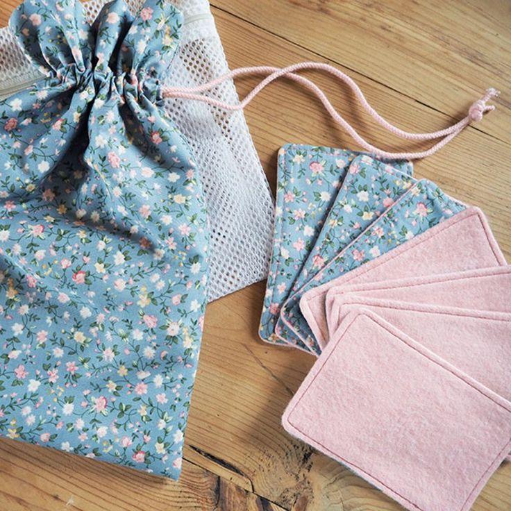 Cotons lavables DIY, une solution économique et écologique DIY washable cotton, economical and ecological solution