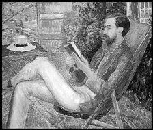 Lytton Strachey by Dora Carrington