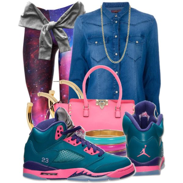 This set is for @riccoshaii11 showing an outfit featuring the Air Jordan 5 Retro u0026quot;Tropical Teal ...