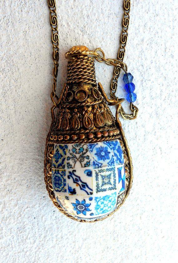 Portugal AZULEJO COLLAGE Antique Tile Replica Perfume by Atrio,