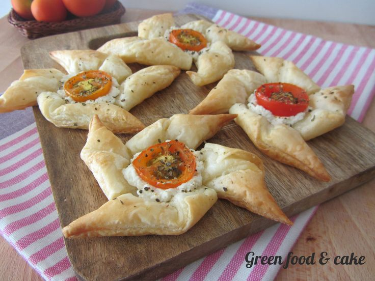 Girandole di pastasfoglia http://blog.giallozafferano.it/greenfoodandcake/girandole-pastasfoglia/