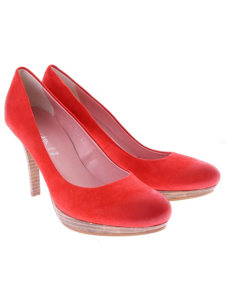 Manuele Konstanti shoes pantofi roșii de la Shopamor