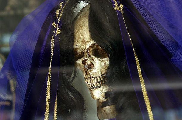 The Catholic Church has condemned Santa Muerte as devil worship.