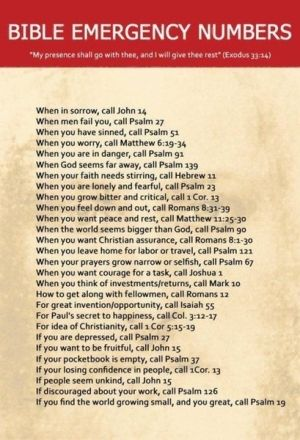 references for bible passages when you are in a certain state of being. i just read Psalm 139 and matthew 11:25-30. refreshed and ready for the day (: Thank u Jesus!