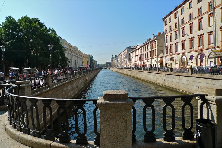 Canal - St. Petersburg, Russia