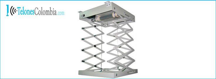 Soporte para video beam eléctrico de 3 metros