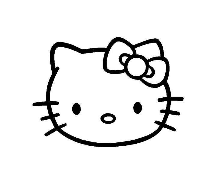 12 Hello Kitty Face Vector Hello Kitty Hello Kitty Clipart Kitty
