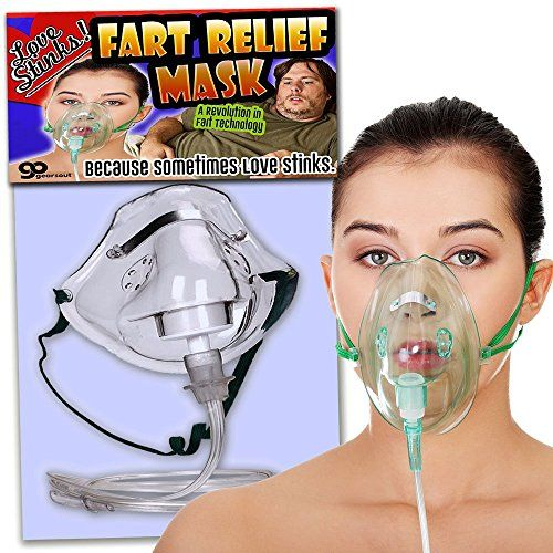 Love Stinks Fart Relief Mask – Fart Gifts– Funny Gifts for women – Funny Bridal Shower Gifts – Oxygen Mask Gag – Gifts for Wives – Dutch Oven Mask by Gears Out #Love #Stinks #Fart #Relief #Mask #Gifts– #Funny #Gifts #women #Bridal #Shower #Oxygen #Wives #Dutch #Oven #Gears