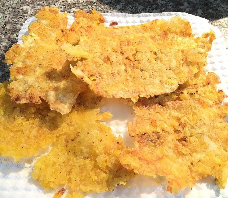 Aquí #preparando unos #deliciosos #patacones #tostados para el #almuerzo! #AdiosVacaciones