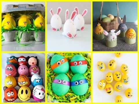 DIY Easter Crafts For Kids – 25+ Fun Easter Egg Decorating Ideas craft for kids at home, craft for kids with paper easy, craft for kids from waste, craft for kids with …