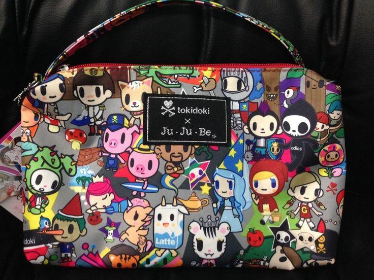 Fairytella Tokidoki JuJuBe Be Quick Bag Purse Limited Edition New  #JuJuBexTokidoki