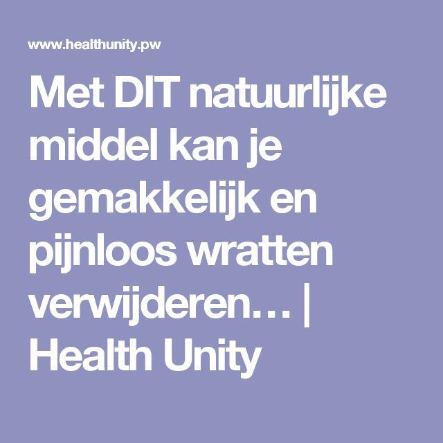 Met DIT natuurlijke middel kan je gemakkelijk en pijnloos wratten verwijderen… | Health Unity