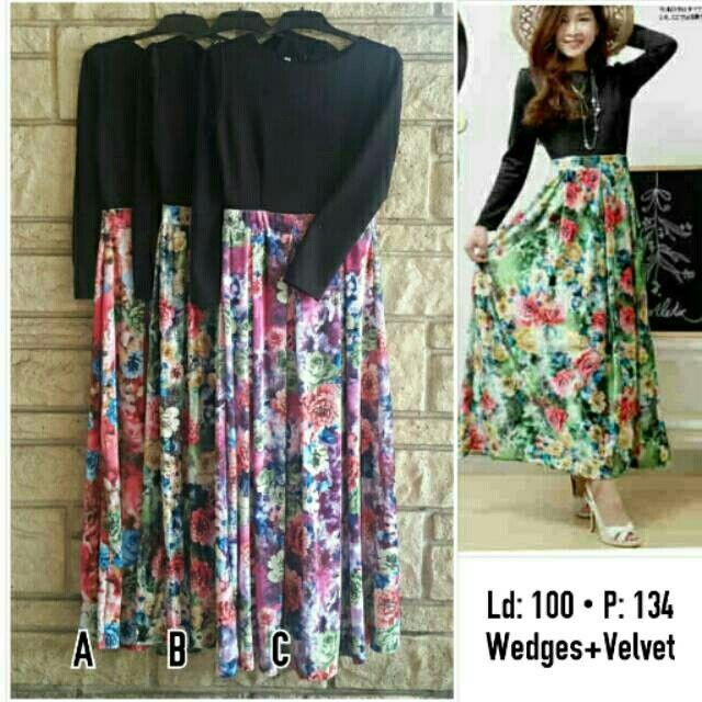 Saya menjual Longdress / maxi dress floral 4580VF seharga Rp149.000. Dapatkan produk ini hanya di Shopee! {{product_link}} #ShopeeID