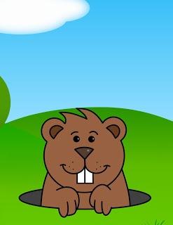 how to draw cartoons groundhog