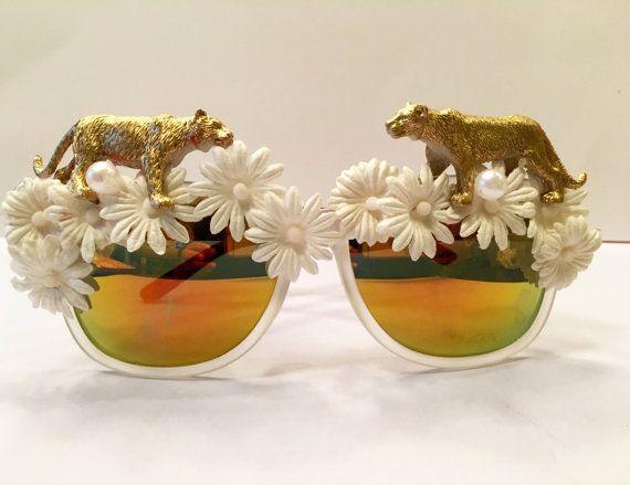 Tigress Embellished Sunglasses