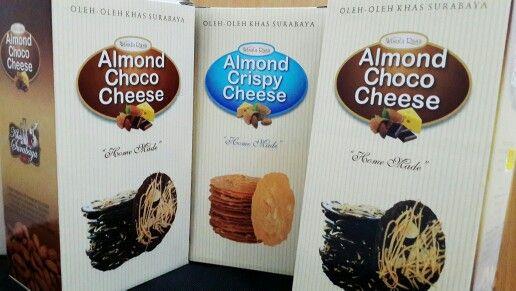 Almond Crispy Cheese • Almond Choco Cheese
