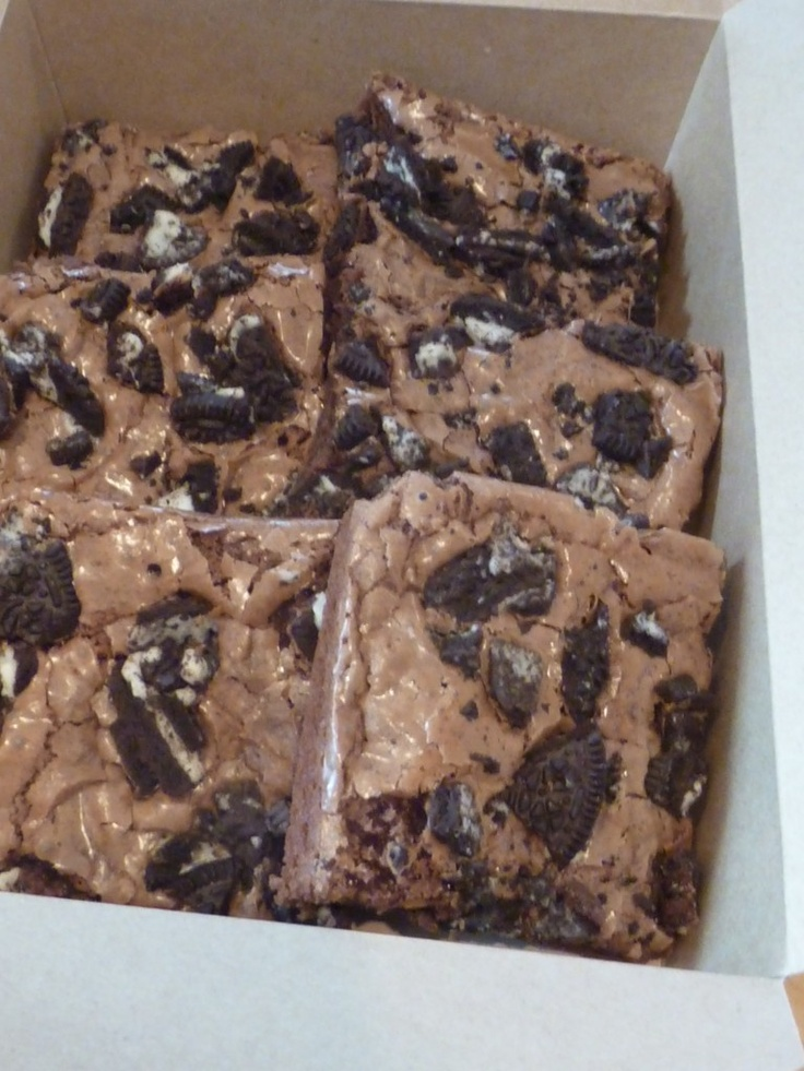 Oreo Crumble Brownies from Tiggy's Brownie Co