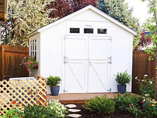 Tuff Shed Gallery Fence Landscaping Backyard Fences