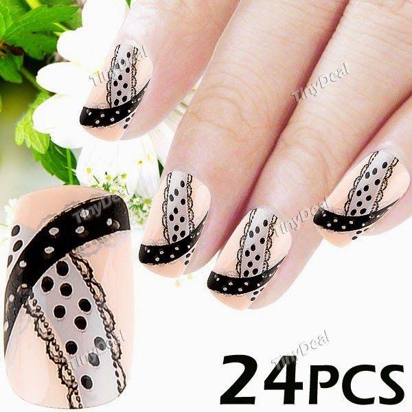 Интернет - магазины : Оригинальные накладные ногти с оригинальным рисунк...