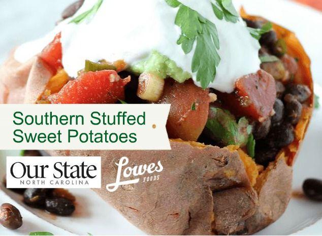 7 best carolina sweet potatoes images on pinterest potato southwestern stuffed sweet potatoes recipe lowes foodrecipe contestsstuffed forumfinder Gallery