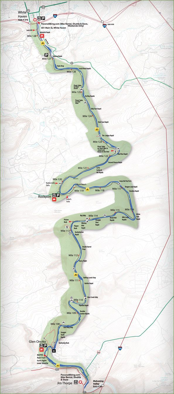 Best Cycling USA Images On Pinterest - Us rail trail map
