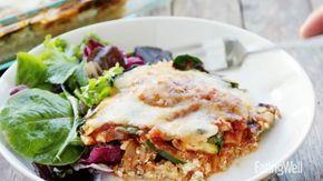 Lasagne z komosa ryżową z warzywami, znany przepis