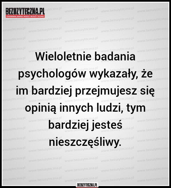 Wieloletnie badania psychologów wykazały, że… » Bezuzyteczna.pl- Codzienna dawka wiedzy bezuzytecznej