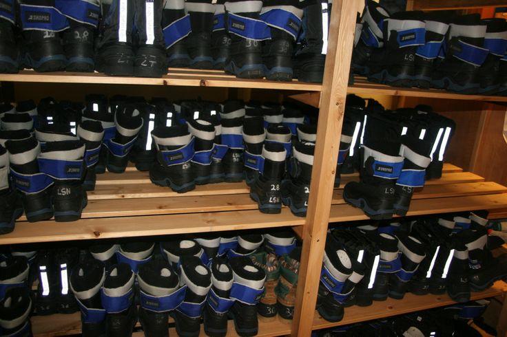 Winter boots, Saariselka, Lapland, Santa's Lapland, Father Christmas, Santa Claus, Finland, Christmas, snow, http://globalmousetravels.com/2013/12/trip-review-lapland-santas-lapland/