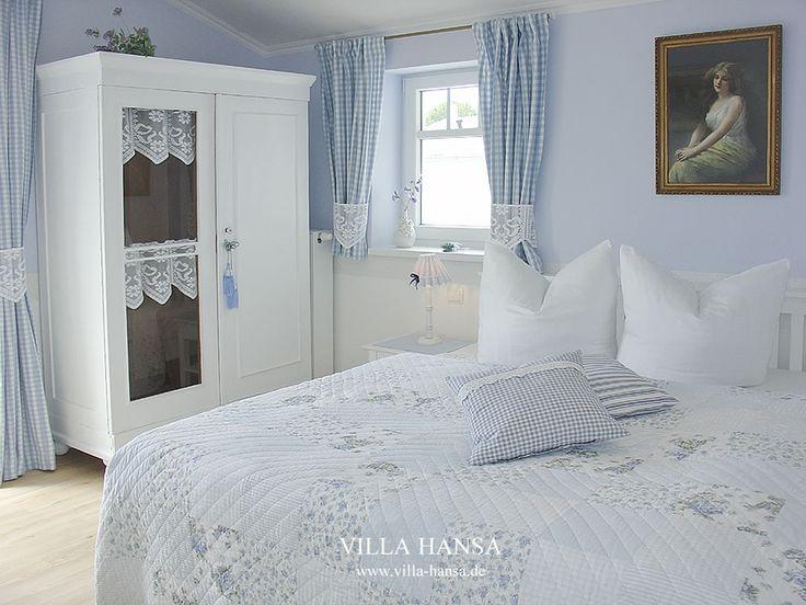 :-) Träumen Sie süß im Chabby Chic! Schlafraum in einem Ferienappartement der Villa. #Ferienappartement