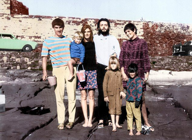 How Macca gate-crashed our holidays! Beatles biographer HUNTER DAVIES