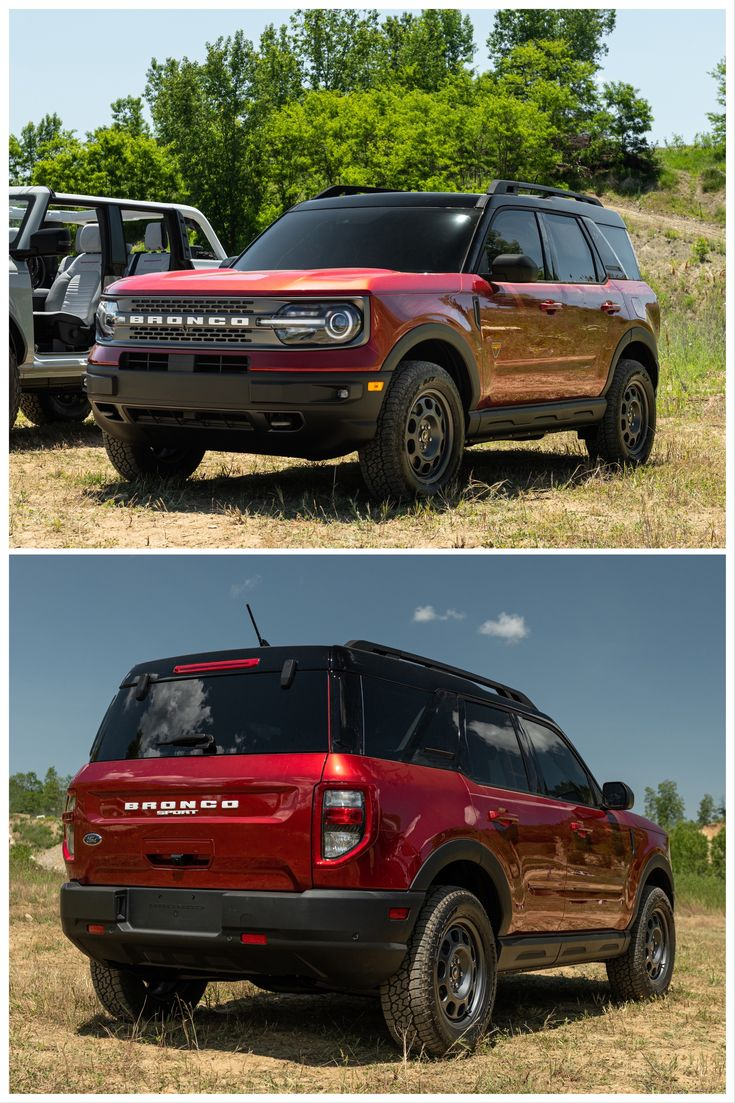 AllNew 2021 Ford Bronco Sport Is the Cool Little Brother