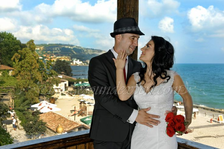 wedding at Queen Mary Castle.- Balchik