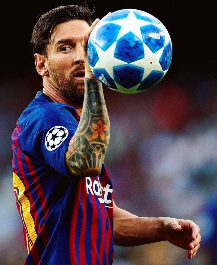 Messi Hattrick Fcb Vs Psv Ucl 2018 19 Lionel Messi Messi Barcelona Team