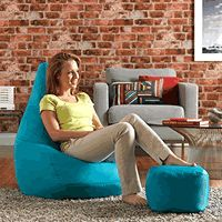 Giant bean bag chair with free footstool under 40 pounds on sale in the uk here http://www.hugebeanbags.co.uk/free-footstool-with-this-giant-bean-bag/