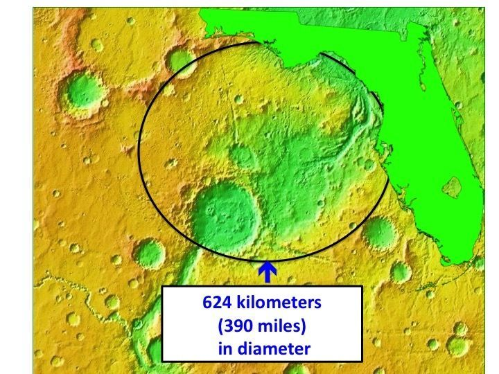 Naming Rights to the Largest Crater on the Uwingu Mars Map