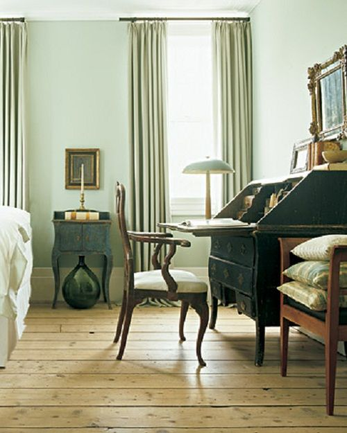 Bedrooms With Sage Green Walls - Martha Stewart