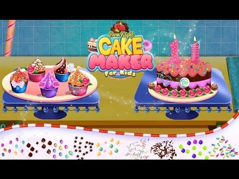 Prom Night Cake Maker For Kids  Videos games for Kids - Girls - Baby And...