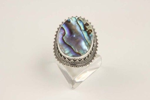 Ring R00030 Silver 925° stone Avalon