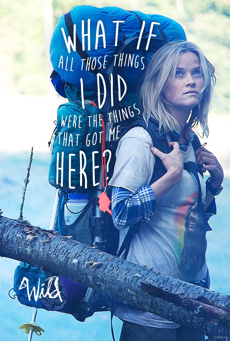 Every moment is a stepping stone. #WildMovie Watch it on Digital HD! http://www.foxdigitalhd.com/wild